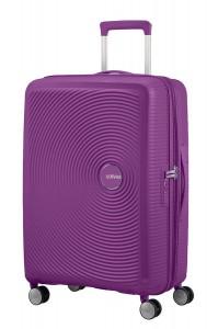American Tourister Cestovní kufr Soundbox Spinner EXP 32G 71,5/81 l – tmavě fialová