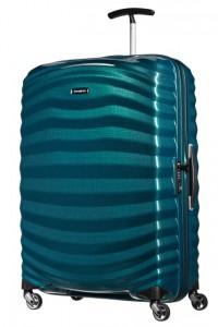 Samsonite Cestovní kufr Lite-Shock Spinner 98V 98,5 l – modrá