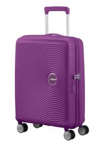 American Tourister Kabinový cestovní kufr Soundbox Spinner EXP 32G 35,5/41 l – tmavě fialová