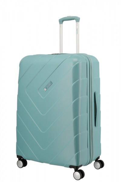 Travelite Skořepinový cestovní kufr Kalisto L Aqua 106 l