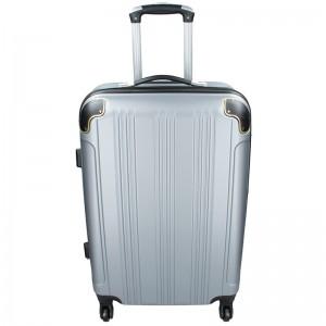 Cestovní kufr Madisson Michaela L – stříbrná