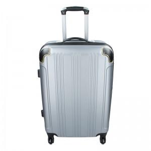 Cestovní kufr Madisson Michaela M – stříbrná