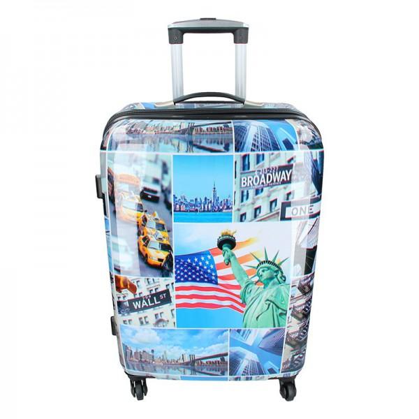Cestovní kufr Snowball New York M
