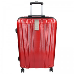 Cestovní kufr Snowball Lada L – tmavě červená