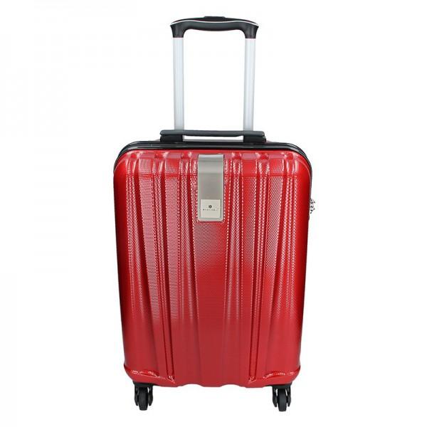 Cestovní kufr Snowball Lada S – tmavě červená