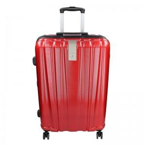Sada 3 cestovních kufrů Snowball Lada S,M,L – tmavě červená