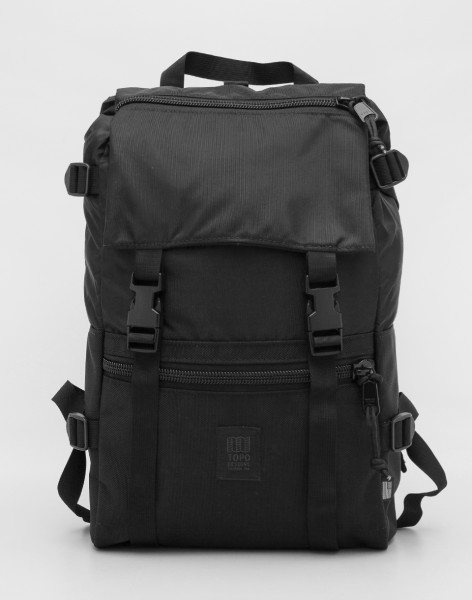 Batoh Topo Designs Rover Pack Ballistic Black