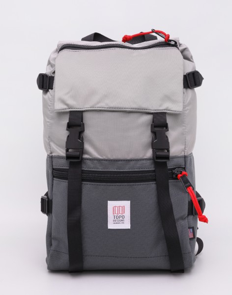 Batoh Topo Designs Rover Pack Silver/ Charcoal