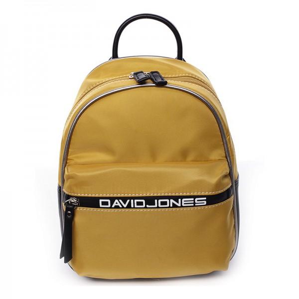 Módní dámský batůžek David Jones Wendy – žlutá