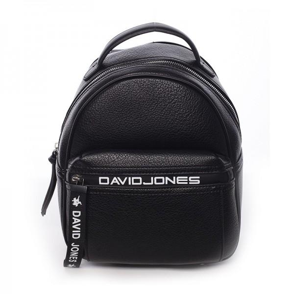 Módní dámský batůžek David Jones Terrna – černá