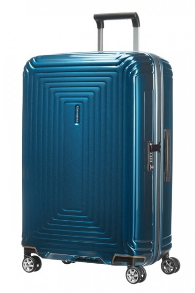 Samsonite Cestovní kufr Neopulse Spinner 44D 74 l – modrá