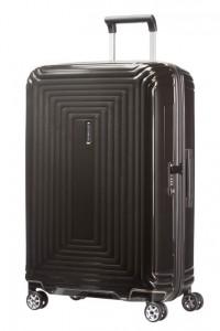 Samsonite Cestovní kufr Neopulse Spinner 44D 74 l – tmavě hnědá