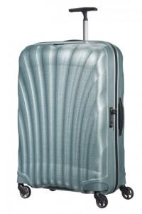 Samsonite Cestovní kufr Cosmolite Spinner V22 94 l – světle modrá