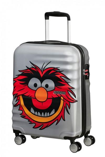 American Tourister Kabinový cestovní kufr Wavebreaker Disney Spinner 31C 36 l – Animal Sparkle