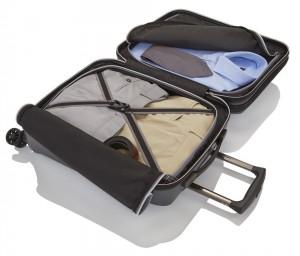Titan Kabinový cestovní kufr Xenon Deluxe Business Wheeler Brown 40 l