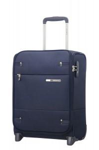 Samsonite Kabinový cestovní kufr Base Boost Upright Underseater 38N 26 l – tmavě modrá