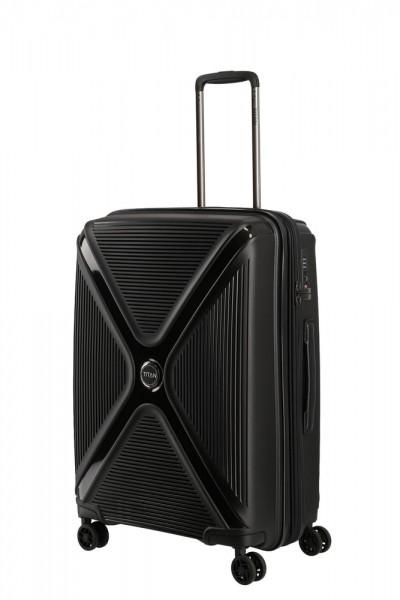 Titan Cestovní kufr Paradoxx 4w M Black Uni 80/88 l