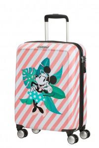 American Tourister Kabinový cestovní kufr Funlight Disney Spinner 48C 36 l – Minnie Miami Holiday