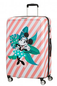 American Tourister Cestovní kufr Funlight Disney Spinner 48C 98,5 l – Minnie Miami Holiday