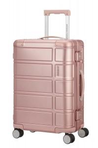 American Tourister Kabinový cestovní kufr Alumo Spinner 70G 34 l – růžová