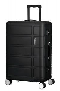 American Tourister Cestovní kufr Alumo Spinner 70G 64 l – černá