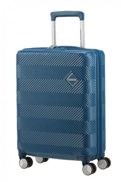 American Tourister Kabinový cestovní kufr Flylife Spinner EXP 81G 35,5/41 l – tmavě modrá