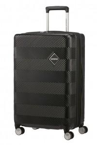 American Tourister Cestovní kufr Flylife Spinner EXP 81G 70/81 l – černá
