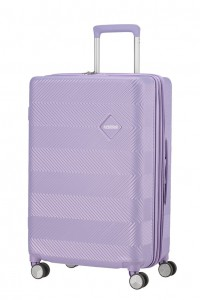 American Tourister Cestovní kufr Flylife Spinner EXP 81G 70/81 l – fialová