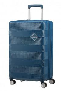 American Tourister Cestovní kufr Flylife Spinner EXP 81G 70/81 l – tmavě modrá