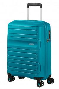 American Tourister Kabinový cestovní kufr Sunside 51G 35 l – modrá