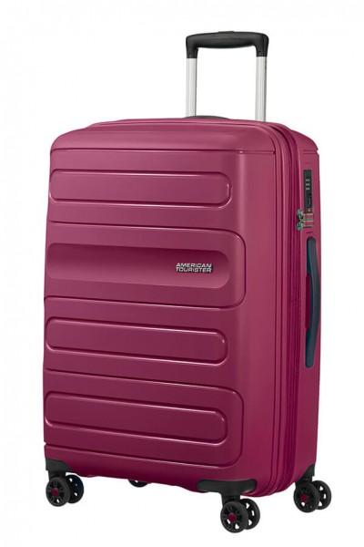 American Tourister Cestovní kufr Sunside 51G EXP 72,5/83,5 l – fuchsiová