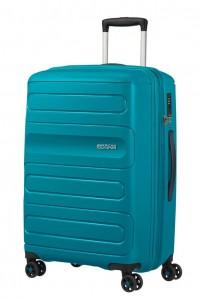 American Tourister Cestovní kufr Sunside 51G EXP 72,5/83,5 l – modrá