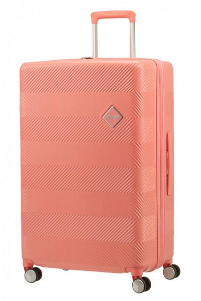 American Tourister Cestovní kufr Flylife Spinner EXP 81G 100/114 l – oranžová