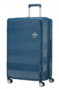 American Tourister Cestovní kufr Flylife Spinner EXP 81G 100/114 l – tmavě modrá