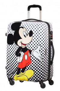 American Tourister Cestovní kufr Disney Legends Spinner 19C 62,5 l – Mickey Mouse Polka Dot