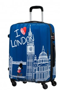 American Tourister Cestovní kufr Disney Legends Spinner 19C 62,5 l – Take Me Away Mickey London