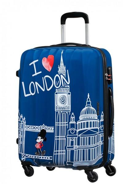 American Tourister Cestovní kufr Disney Legends Spinner 19C 62,5 l – Take Me Away Mickey London