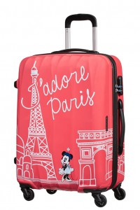 American Tourister Cestovní kufr Disney Legends Spinner 19C 62,5 l – Take Me Away Minnie Paris
