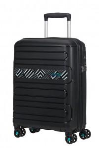 American Tourister Kabinový cestovní kufr Sunside Limited Edition 51G 35 l – light geo