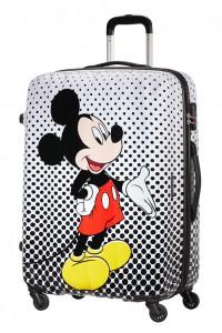 American Tourister Cestovní kufr Disney Legends Spinner 19C 88 l – Mickey Mouse Polka Dots