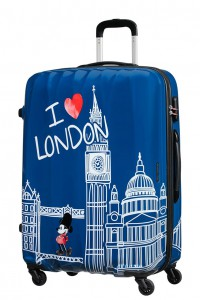 American Tourister Cestovní kufr Disney Legends Spinner 19C 88 l – Take Me Away Mickey London