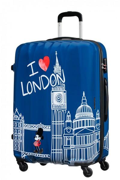 American Tourister Cestovní kufr Disney Legends Spinner 19C 88 l – Take Me Away Mickey London