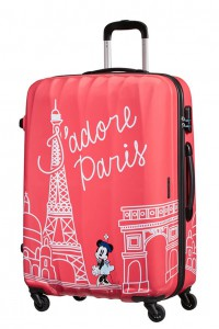 American Tourister Cestovní kufr Disney Legends Spinner 19C 88 l – Take Me Away Minnie Paris