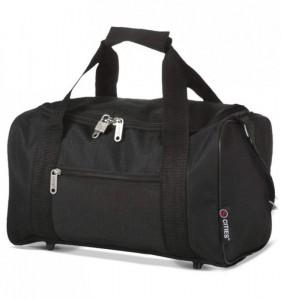5 Cities 611 palubní cestovní taška Ryanair 40x20x25 cm Black
