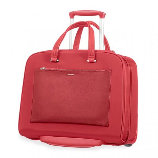 Samsonite Kabinový cestovní kufr Zalia 85D 20,5 l – červená