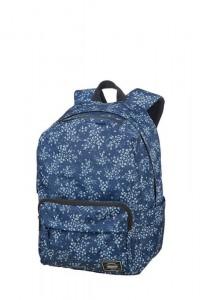 American Tourister UG Lifestyle BP1 volnočasový batoh Blue Floral 23 l