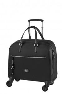 Samsonite Kabinový cestovní kufr Karissa Biz Spinner 60N 21,5 l 15.6″ – černá