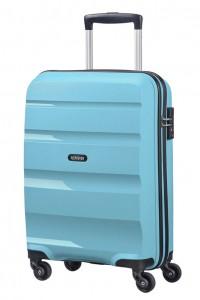 American Tourister Kabinový cestovní kufr Bon Air Spinner 85A 31,5 l – světle modrá