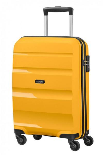 American Tourister Kabinový cestovní kufr Bon Air Spinner 85A 31,5 l – žlutá