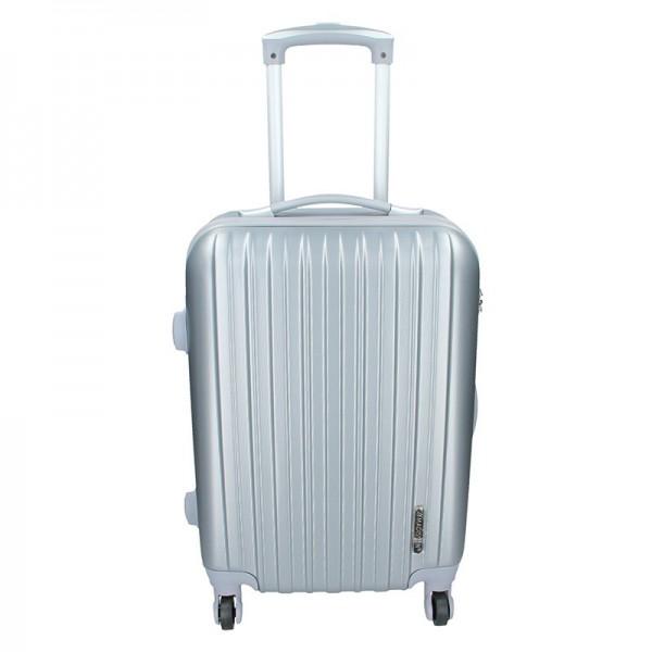 Palubní cestovní kufr Madisson Bilbao – světle šedá